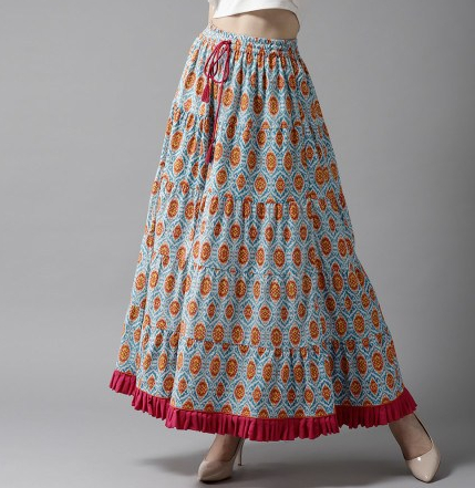 ethnic look skirt