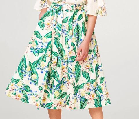 flared skirt 2